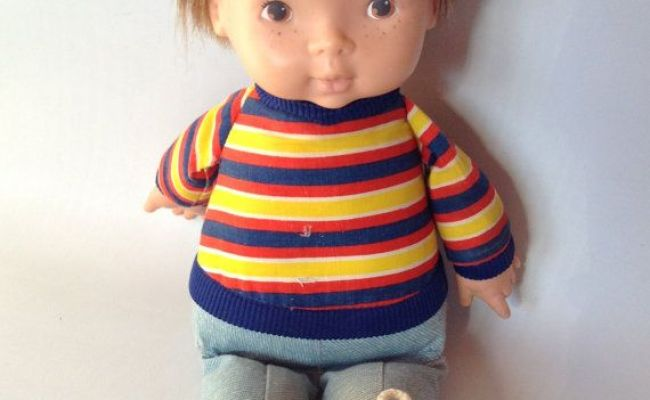Fisher Price Joey Doll Vintage 1973 Lapsitter 206