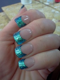 25+ best ideas about Glitter french tips on Pinterest ...