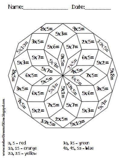 Best 25+ Coloriage magique multiplication ideas on