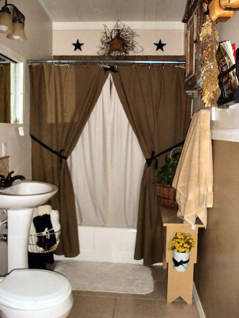 17 Best ideas about Primitive Bathroom Decor on Pinterest  Western bathroom decor Antique