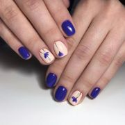 two color nails ideas