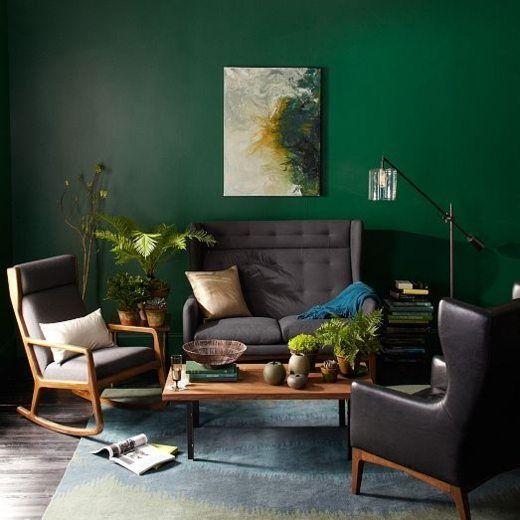 25 best ideas about Dark Green Walls on Pinterest  Dark