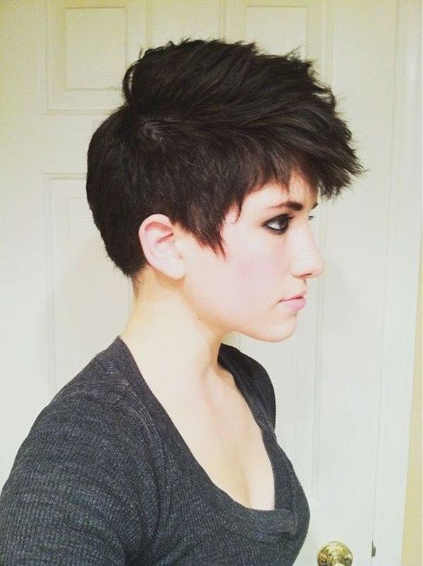 25 Best Ideas About Short Punk Hairstyles On Pinterest Punk