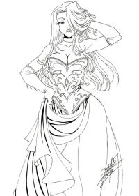 1000+ images about Anime coloring pages on Pinterest ...