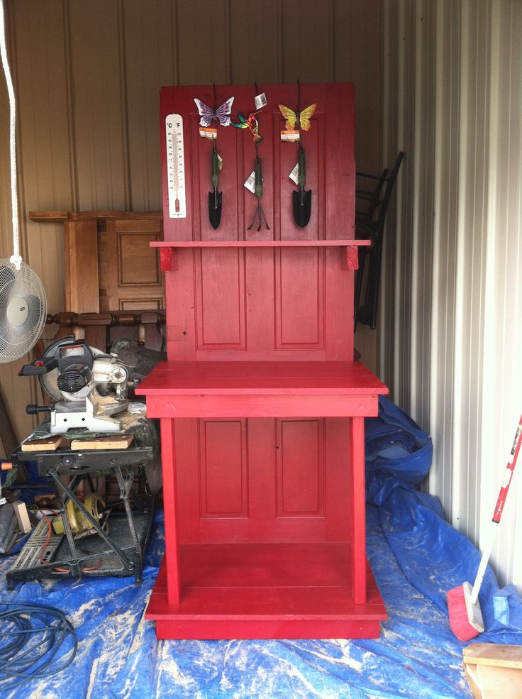 1000 Images About Potting Bench And Tables On Pinterest