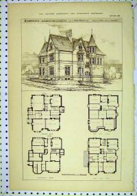 vintage Victorian House Plans | CLASSIC VICTORIAN HOME ...