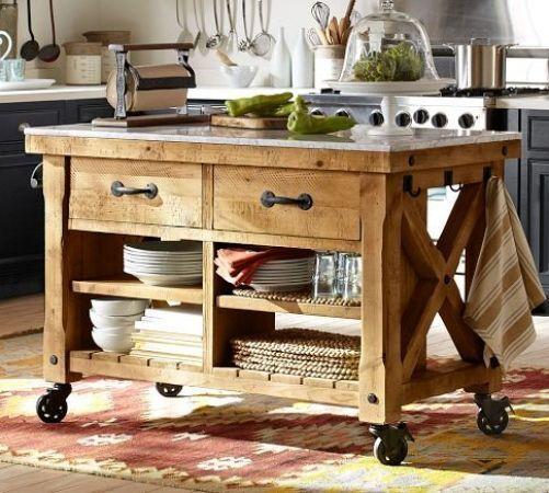 Best 25 Mobile kitchen island ideas on Pinterest