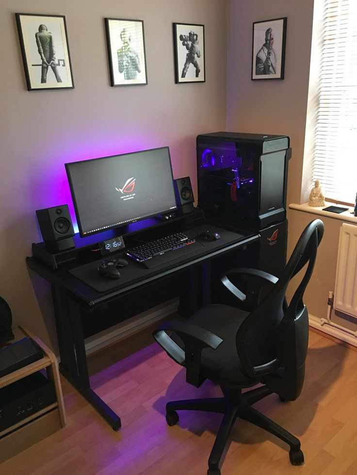 Best 25 Gaming desk ideas on Pinterest  Gaming computer