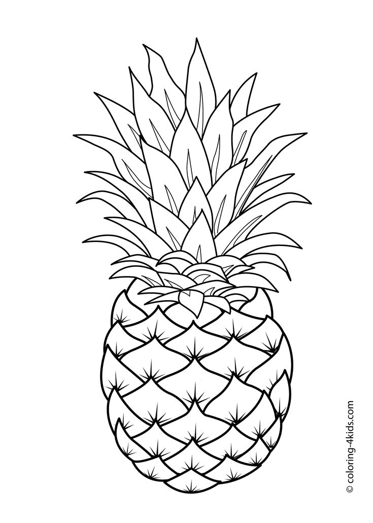 25+ best ideas about Fruit coloring pages on Pinterest