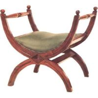 A chair inspired by the Roman curule chair, which was an x ...