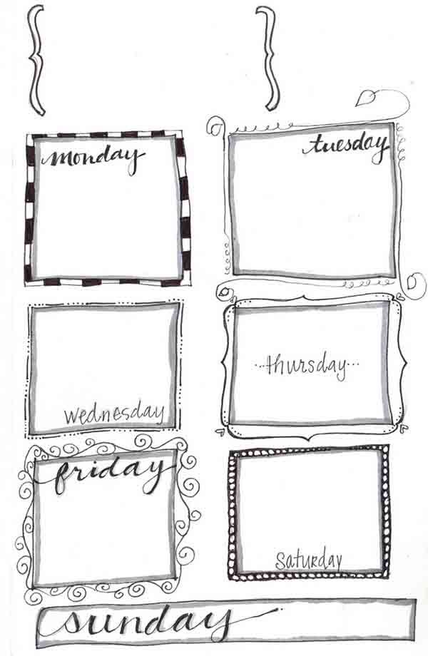 17 Best ideas about Weekly Planner Printable on Pinterest