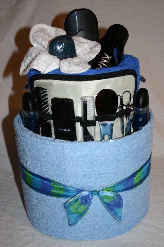 Mens ShavingTowel Cake DIY And Crafts Pinterest