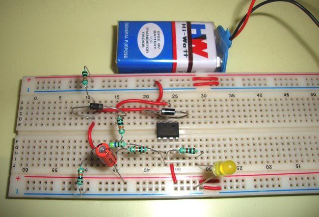 Operational Amplifier 741 Tester 741 Based Projects Best