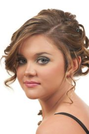 1000 ideas curly prom hairstyles