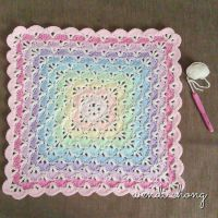 Crochet Baby Blanket Patterns Shells ~ Dancox for