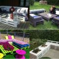 Pallet patio furniture patio idea pallets idea outdoor furniture