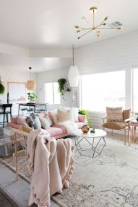 25+ best ideas about Pink sofa on Pinterest