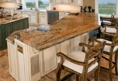 Kitchen Island With Footrest