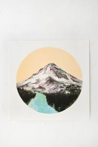 Cathy McMurray Mountain Print - Urban Outfitters | Wild ...