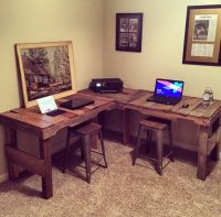 25+ best Pallet desk ideas on Pinterest | Crate desk, Desk ...