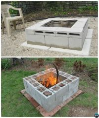 25+ best ideas about Cinder Block Fire Pit on Pinterest ...