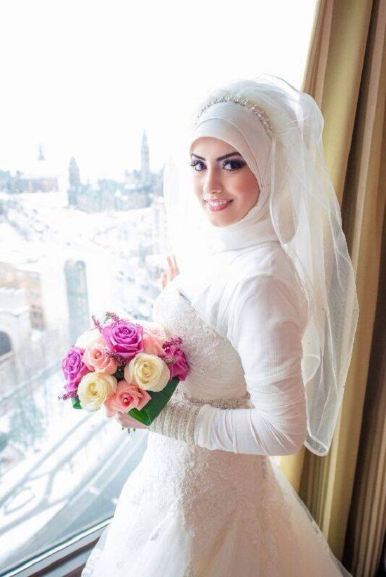 Bridal Hijab 2014  Simple Hijab Style Collection  My