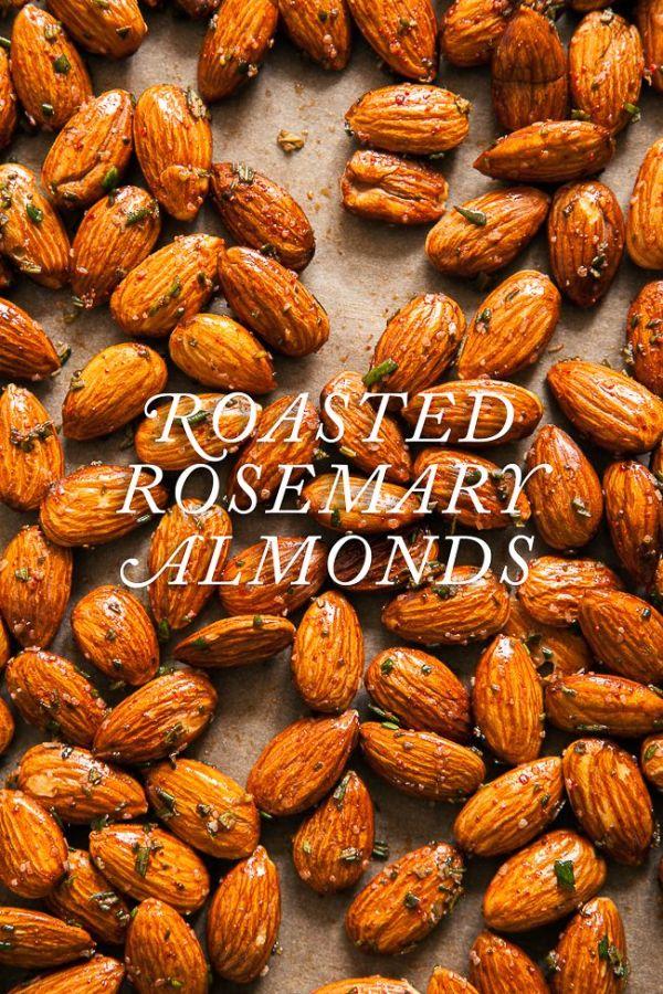 Rosemary Roasted Almonds blogjchongstudiocom Food