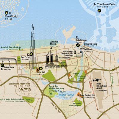 Best 25+ Dubai map ideas on Pinterest
