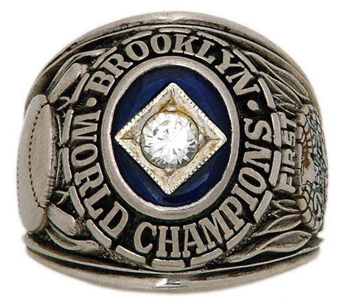 Brooklyn Dodgers 1955 World Series Ring Championship