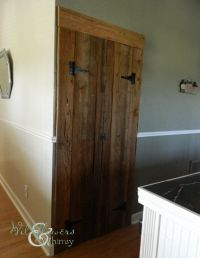 17 Best images about Homemade pantry doors on Pinterest