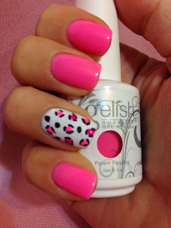 Best 25 Hot pink nails ideas on Pinterest