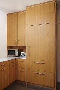 rift sawn white oak cabinets kitchen modern