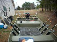 aluminum rod rack for catfish boat - Google Search ...