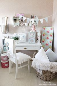 1000+ images about SHABBY CHIC ~ SEWING ROOM/CRAFT ROOM on