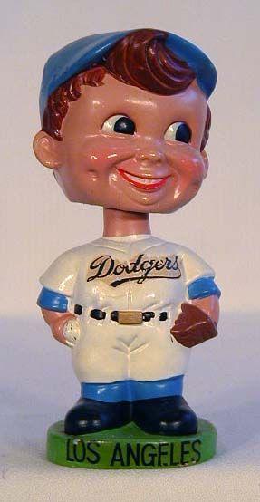 Los Angeles Dodgers Vintage Bobblehead Baseball the one
