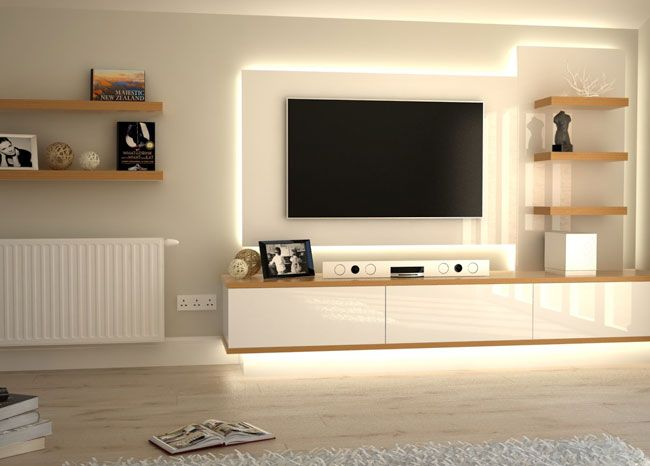 Pics For > Simple Tv Unit Design For Hall