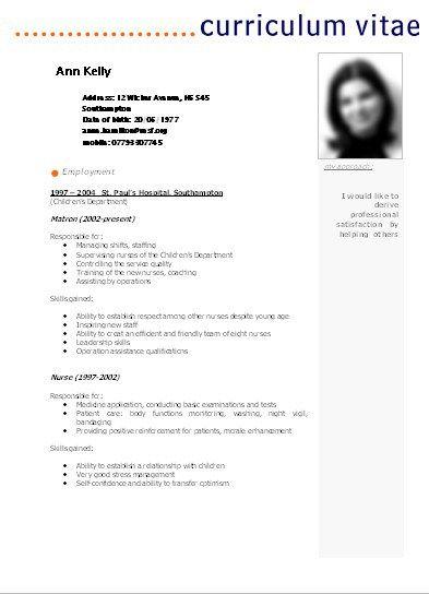 Plantilla De Curriculum Vitae Para Rellenar Pdf Sample Resume Service