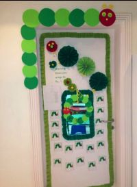 The very hungry caterpillar classroom door. | Manopa style ...