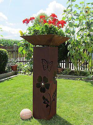 gartendeko aus edelstahl gartendeko rost saule edelstahl beste, Garten und bauen
