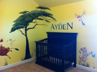 Lion King Nursery | Murals By Whitney | Pinterest ...
