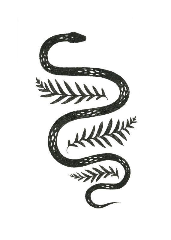 Best 25+ Snake tattoo ideas on Pinterest