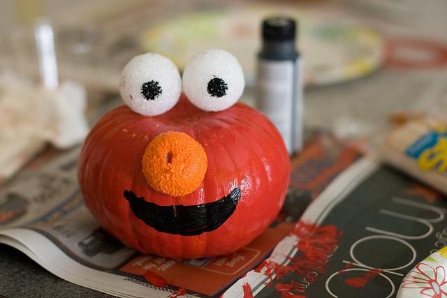 Best Pumpkin Ever Elmo Pinterest Photos Pumpkins