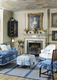 Sweet little room. Quaint. Slip covers. New Home Interior ...