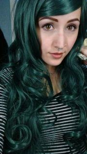 1000 ideas dark green hair