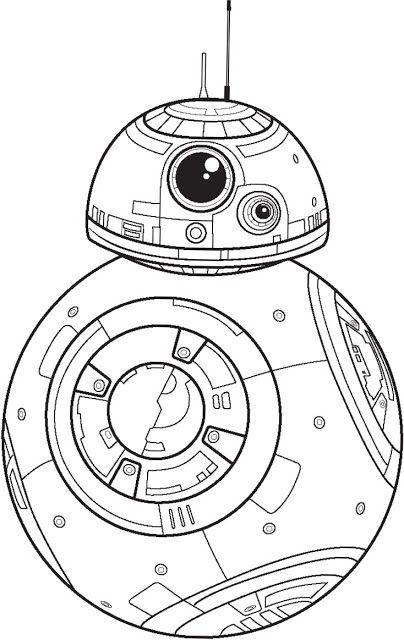 Polkadots on Parade: Star Wars: The Force Awakens Coloring