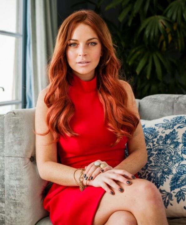 Lindsay Lohan Red Hair