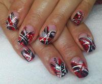 Best 20+ Line nail designs ideas on Pinterest