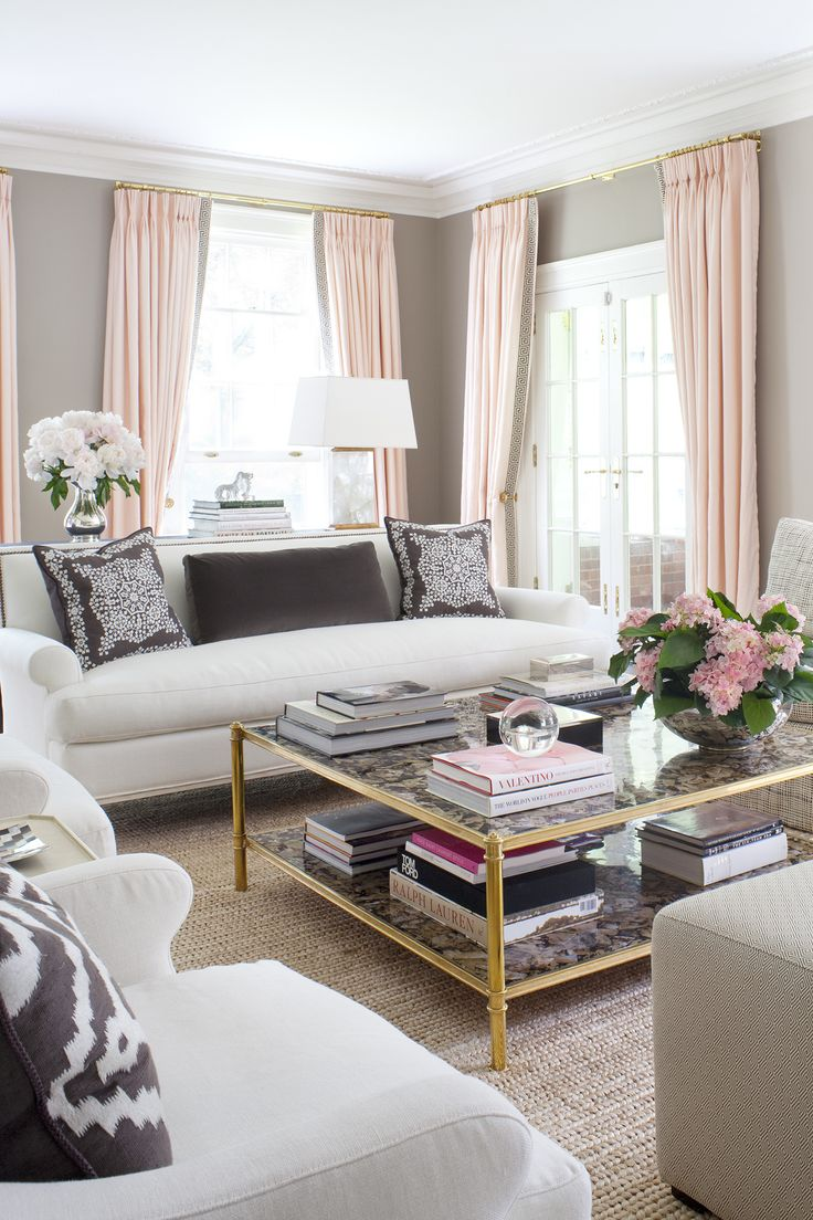 The 25 Best Ideas About Pink Curtains On Pinterest Pink Home
