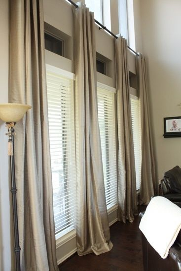 25 Best Ideas About Large Window Curtains On Pinterest Large