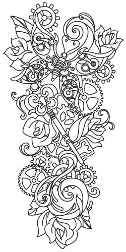 104 best images about Colouring Steampunk on Pinterest